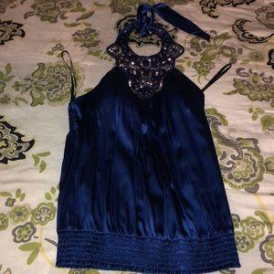 Beautiful Royal Blue colored BEBE top